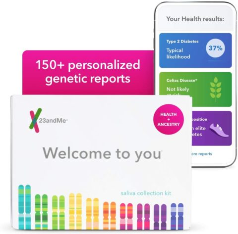 23andMe Health + Ancestry Service Personal Genetic DNA Test Including Health