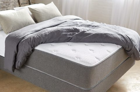 Aviya Mattress Queen Hybrid Innerspring Foam Premium 12 Inch Size Bed with Cooling Quilted Pillow Top , Luxury Firm