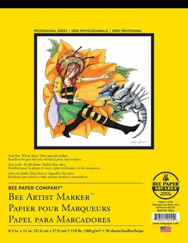 Bee Paper Company 926T30-8511 Bleedproof Marker Pad