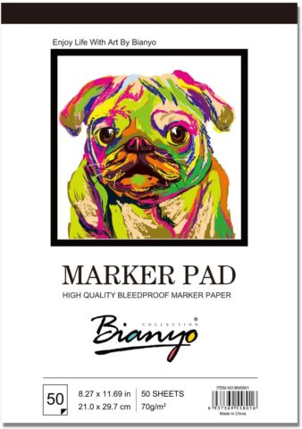 Bianyo BN-5801 Bleedproof Marker Paper Pad-A