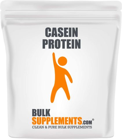 Bulksupplements Casein Protein Powder (1 Kilogram)
