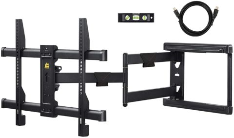 FORGING MOUNT Long Extension TV Mount Corner Wall Mount TV Bracket Full Motion