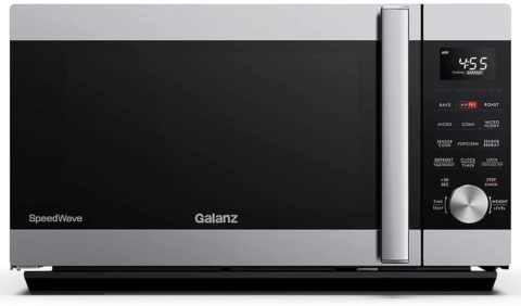 Galanz GSWWA16S1SA10 3-in-1 SpeedWave with TotalFry 360, Microwave, Air Fryer, Convection Oven with Combi-Speed Cooking
