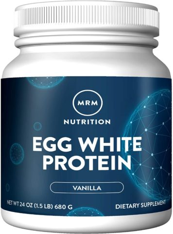 MRM Natural Egg White Protein Powder - Rich Vanilla