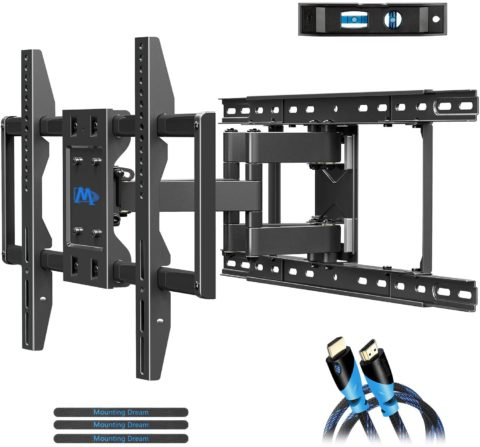 Mounting Dream TV Wall Mounts TV Bracket for 42-70 Inch TVs, Premium TV Mount
