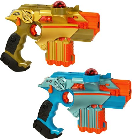Nerf Official Lazer Tag Phoenix LTX Tagger 2-pack - Fun Multiplayer Laser Tag Game for Kids & Adults, Ages 8 & Up (Amazon Exclusive)
