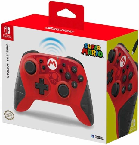 Nintendo Switch USB-C Wireless HORIPAD (Mario) By HORI - Officially Licensed By Nintendo