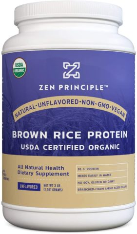 Organic Brown Rice Protein 3 LB. USDA Certified Organic