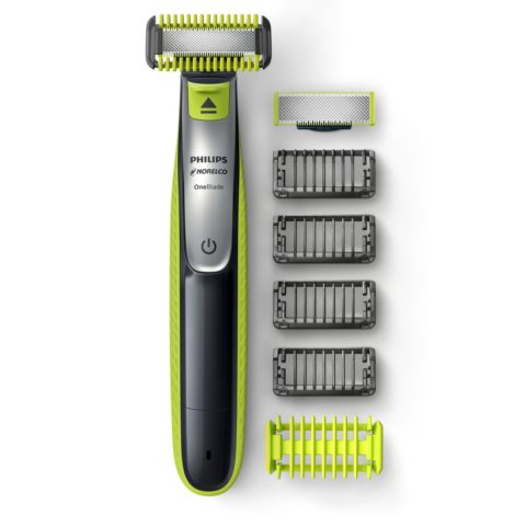 Philips Norelco OneBlade Face Body, Hybrid Electric Trimmer and Shaver, QP263070