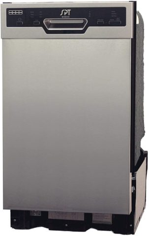 SD 9254SS Energy Star 18 Built In Dishwasher Heated Drying Stainless