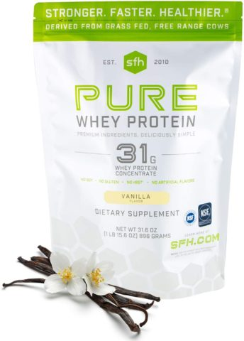 SFH Pure Whey Protein Powder by SFH