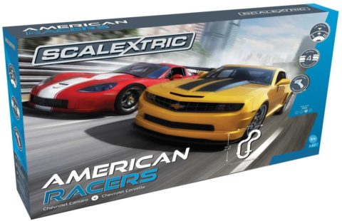 Scalextric American Racers 1 32 Slot Car Race Track C1364T Playset
