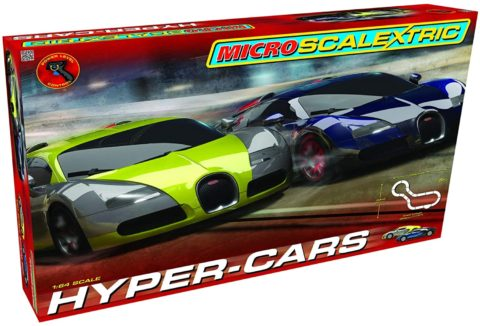 Scalextric Micro Hyper-Cars Race Slot Car Set