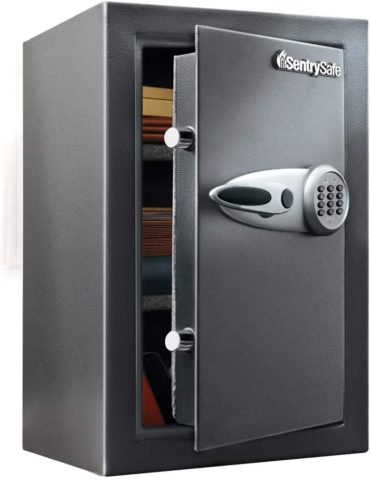 SentrySafe T6-331 Security Safe, 2.3 Cubic Foot, Black