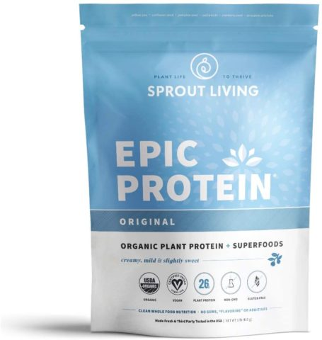 Sprout Living Epic Protein Powder, Original Flavor