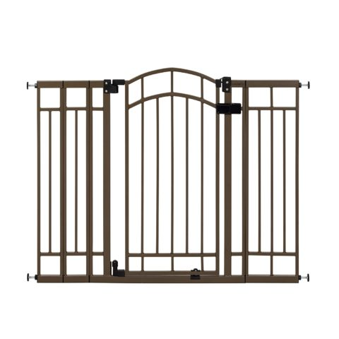 Summer Multi-Use Decorative Extra Tall Walk-Thru Baby Gate,