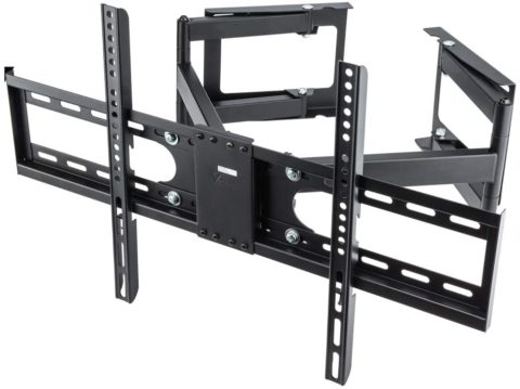 Vemount Corner TV Wall Mount Bracket Full Motion TV Corner Mounts