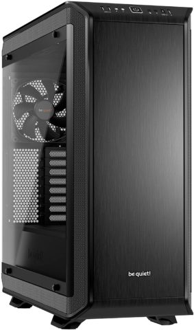 be quiet! Dark Base PRO 900 Black Rev. 2, Full Tower ATX, 3 Pre-Installed Silent Wings 3 Fans, BGW15, Tempered Glass Window, RGB LED Illumination